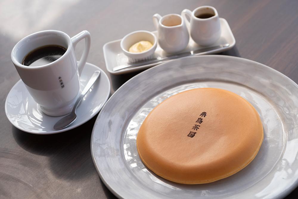 糸島茶房 パンケーキ